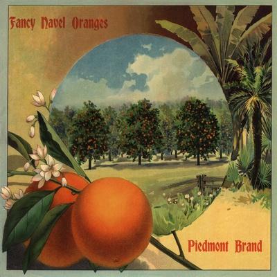 Piedmont Brand - California - Citrus Crate Label