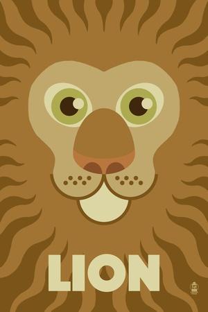 Zoo Faces - Lion