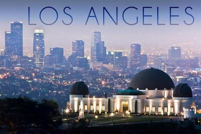 Los Angeles, California - Griffith Observatory and Skyline