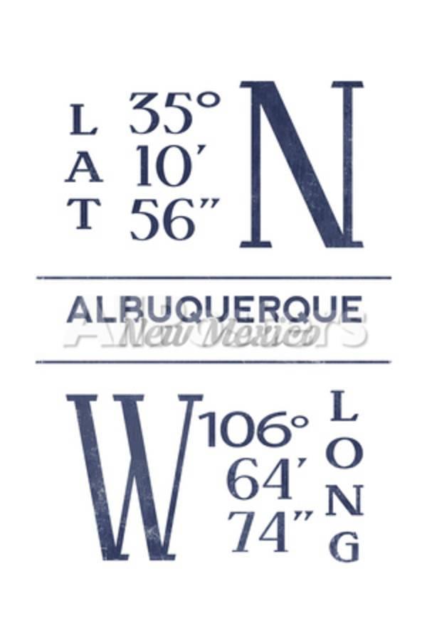 Get Albuquerque Latitude