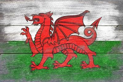 Wales Country Flag - Barnwood Painting