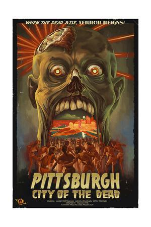 Pittsburgh, Pennsylvania - Zombie Day of the Dead