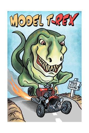 Model T-REX Dinosaur