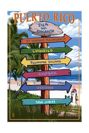 Isla del Encanto, Puerto Rico - Destination Signpost