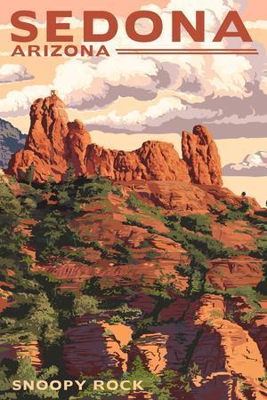 Sedona, Arizona - Snoopy Rock