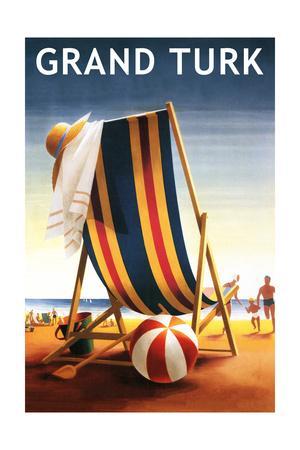 Grand Turk - Beach Chair and Ball