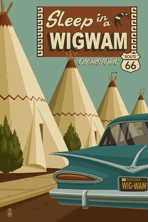 Holbrook, Arizona - Route 66 - Wigwam Village Motel