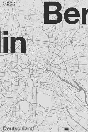 Berlin Minimal Map