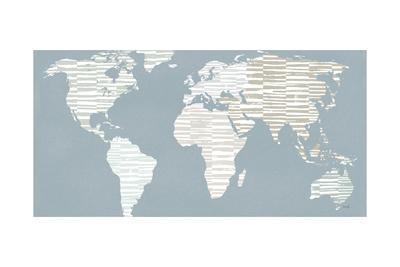Calm World Map Crop