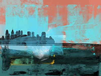 Philadelphia Abstract Skyline I