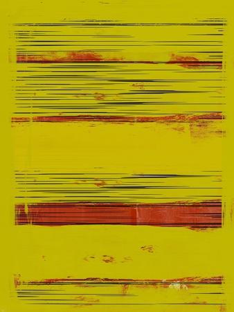 Abstract Yellow and Red Study