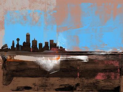 Dallas Abstract Skyline I