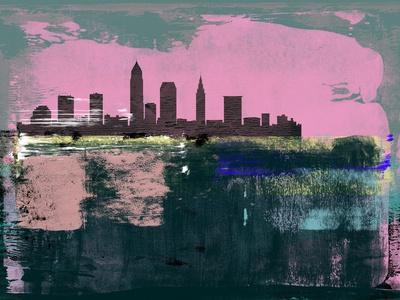 Cleveland Abstract Skyline II