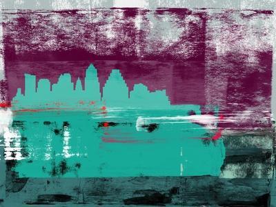 Austin Abstract Skyline II