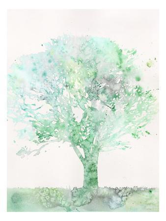 Aquamarine Tree II