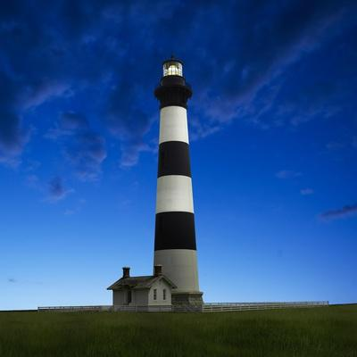 Lighthouse at Night III