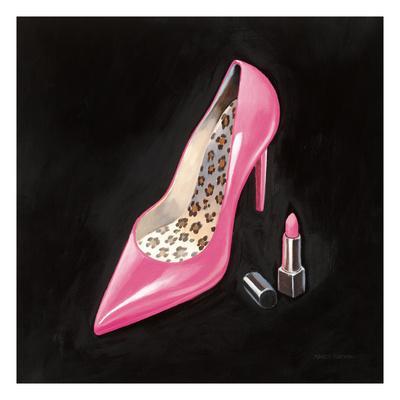 The Pink Shoe II Crop