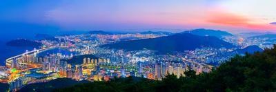 South Korea Landscapes. at Busan City and Downtown Skyline in Busan, South Korea.South Korea Citysc