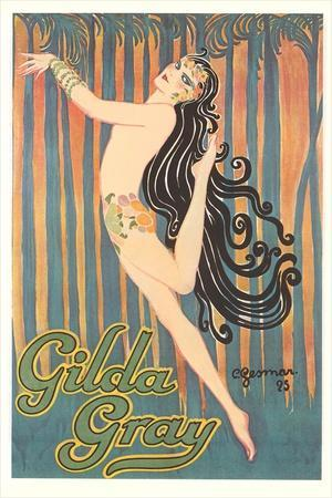 Gilda Gray Dance Poster