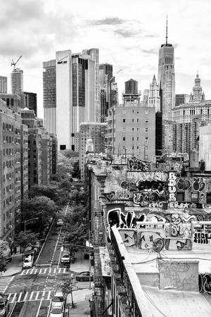 Black Manhattan Collection - View of the roofs