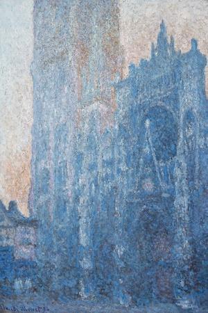 Rouen Cathedral, Portal, Morning Light, 1894