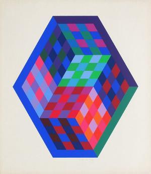 Album Gordes - Tridim by Victor Vasarely