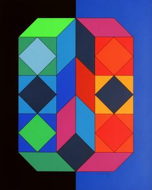 Xico III by Victor Vasarely