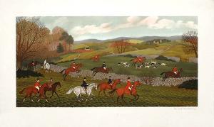 Chasse en Irlande by Vincent Haddelsey