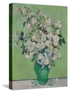 A Vase of Roses, 1890 by Vincent van Gogh
