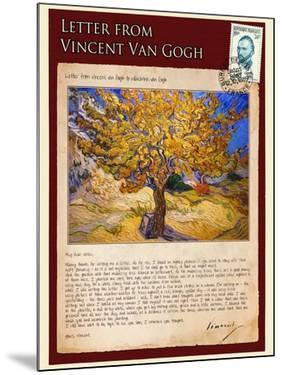 Letter from Vincent: The Mulberry Tree by Vincent van Gogh