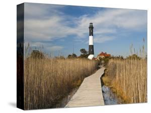 New York Long Island Fire Robert Moses State Park Lighthouse USAWalter Bibikow