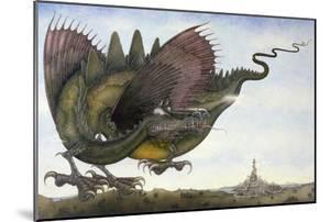 Dragon in Flight, 1979 by Wayne Anderson