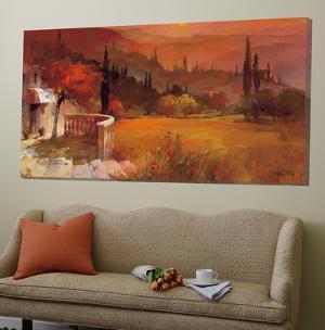Romantic Tuscany I by Willem Haenraets