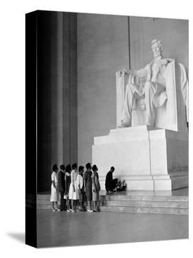 Paying Homage to Lincoln by William J. Smith