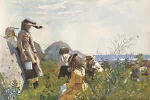 Berry Pickers, 1873 by Winslow Homer
