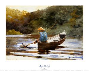 Boy Fishing, 1892 by Winslow Homer