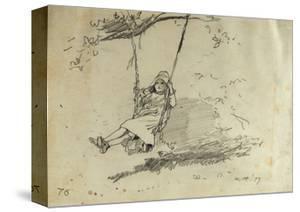 Girl on a Swing, 1879 by Winslow Homer
