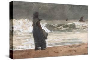 The Watcher, Tynemouth, 1882 by Winslow Homer