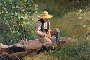 The Whittling Boy, 1873 by Winslow Homer