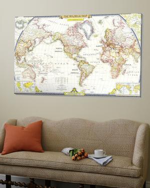 World Map 1951