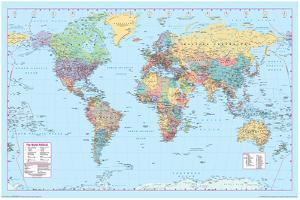 World maps posters and prints at art world map 2 gumiabroncs Images