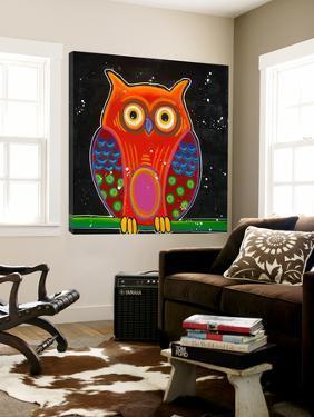Funny Owl II by Y. Hope