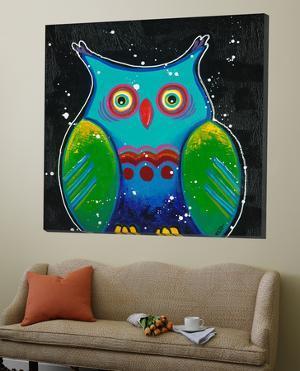 Funny Owl III by Y. Hope