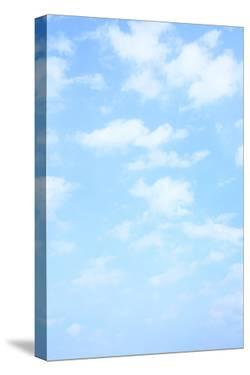 Light Blue Spring Sky with Clouds, May Be Used as Background by Zoom-zoom
